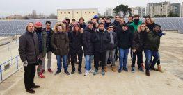Visita técnica al parque fotovoltaico de Zaragoza