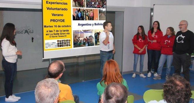 Charla: «Experiencias de Voluntariado Internacional de verano»