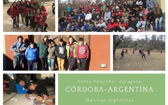 Experiencias de Voluntariado de verano PROYDE ZARAGOZA / Argentina y Bolivia